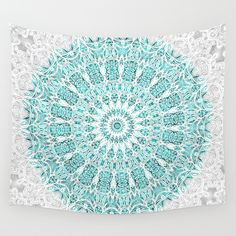 Buy  A Glittering Mandala  by Octavia Soldani as a high quality Wall Tapestry. Worldwide shipping available at Society6.com. Just one of millions of products available.