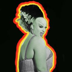 Divine Bride of Frankenstein by Ronald McDonkey