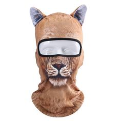 N//A Neck Warmer Neck Gaiter Face Mask Balaclava Sports Face Guards,Windproof Dust Proof Mouth Face Mask Personalized Customization Red Forest Tiger