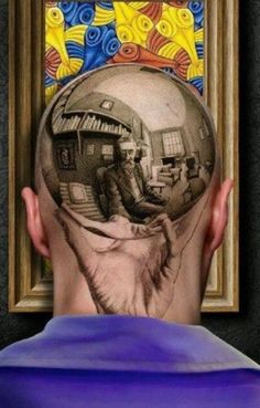 Awesome 3D Art Tattoo