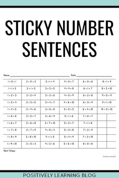 Track math progress using these sticky note visuals! Perfect for progress monitoring, IEP objectives, small groups, and guided math centers. Math Rotations, Math Centers, Co Teaching, Teaching Ideas, First Grade Math, Second Grade, Eureka Math, Progress Monitoring, Effective Teaching