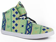 "Vans Off The Wall Stovepipe ""Kitu Print"" Shoes"