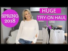 HUGE Try On Haul (Spring 2018) | Zara, Mango, Coast and More - YouTube