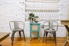 Wedding Planner Office - Fun Office Space - Orangerie Events - NC Wedding Planner - Julie Livingston Photography