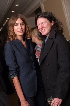 Alexa Chung and Katie Grand | The House of Beccaria~