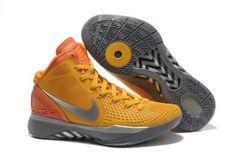 7f1eb8a51407a5 Nike Zoom Hyperdunk 2011 Supreme Orange Metallic Silver-Grey Cheap For Sale