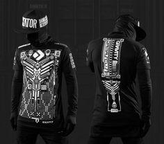 ETHRNET Cyberpunk shirt – Damascus Apparel