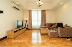 VinhRealtor: Soothing 3 bedroom apartment for rent at The Manor.