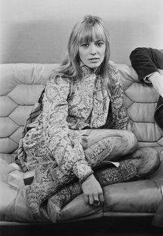 Italian-born actress and model Anita Pallenberg, UK, January 31st 1971.