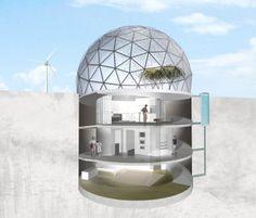 Underground Homes In Australia | ... Refugee? Escape To An Underground Desert Living Unit | Green Prophet