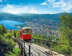 #Lugano es una ciudad suiza perfecta para perderse un fin de semana #Suiza #findesemana #weekend #travel #citybreak