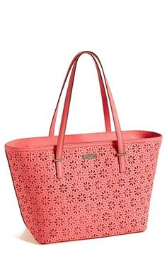 3a69835d0b29 kate spade new york 'small cedar street - harmony' perforated leather tote  | Nordstrom