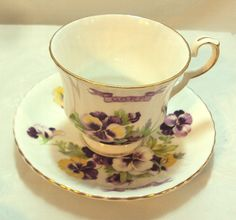 Royal Windsor Pansy Order of the Royal by DeesEnchantedCottage