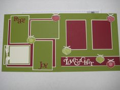 2 page layout … scrapbook pages