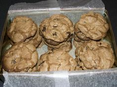 Going to bake these: Gluten Free Awesome Chocolate Chip Cookies from Food.com:   								Gluten Free? You might not think so because these even fooled my husband! Chewy, Crunchy or how ever you like them - these are a real treat.