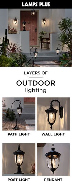 Free Shipping & Free Returns* on best-selling Outdoor Lighting. Nothing refreshes the look of your home like new outdoor lighting fixtures. At Lamps Plus, we carry a complete line of exterior lighting for porch, patio and landscape areas that can help make your home both safer and more attractive.