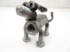 nuts and bolts | Nuts and Bolts Dog Sculpture | Flickr - Photo Sharing!