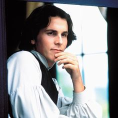 Christian Bale as Laurie in Little Women