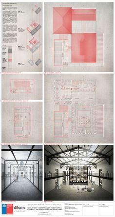 Primer Lugar en Concurso habilitación y construcción Archivo y Biblioteca Regional de Punta Arenas / Chile,Lámina #2. Image