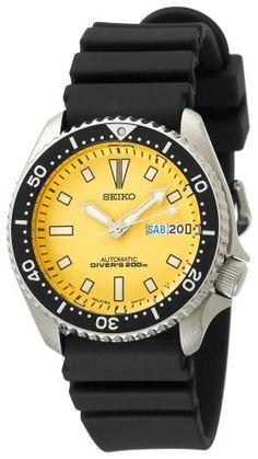 Seiko Men's SKXA35 Automatic Dive Urethane Strap Watch Seiko. $252.00. Save 41%!