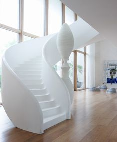 Stairs in Modern Mansion