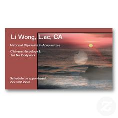 Serenity Business Card