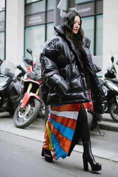 #Streetstyle at Paris Fashion Week Couture Spring 2017 / #MIZUstyle