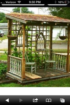 Inexpensive project for the yard or garden