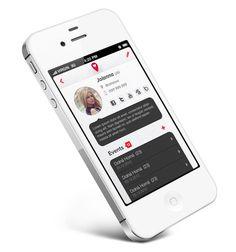 Partner Tracker App by Martin Schurdak, via Behance
