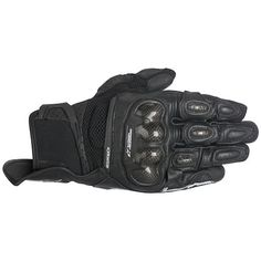 8790c6e9578 Alpinestars SPX Air Carbon Gloves -  RevZilla Leather Motorcycle Gloves