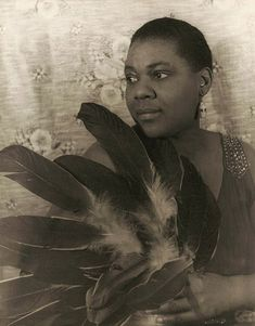 Portrait of American blues singer Bessie Smith, United States, 1936, photograph by Carl Van Vechten.