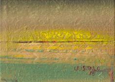 """Saatchi Art Artist Jukka Uusitalo; Painting, """"Mother's Sun 2015"""" #art"""