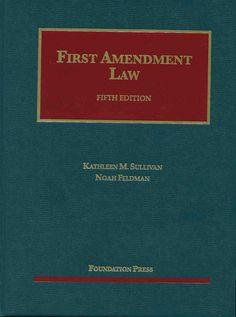 "https://flic.kr/p/uD5avL   First Amendment law / by Kathleen M. Sullivan ; Noah Feldman   <a href=""http://encore.fama.us.es/iii/encore/record/C__Rb2649608?lang=spi"" rel=""nofollow"">encore.fama.us.es/iii/encore/record/C__Rb2649608?lang=spi</a>"