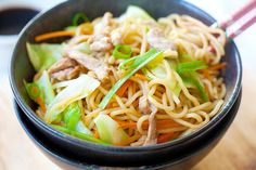 Yakisoba (Japanese Fried Noodles)
