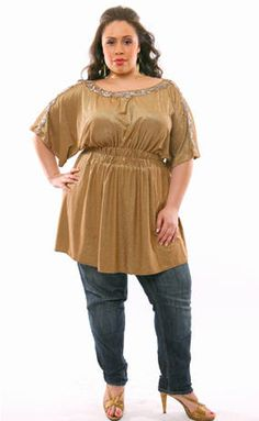 Trends for 2007, but good tips and classic looks for plus sizes.