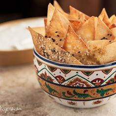 WONTON CRACKERS cut wonton and lay on cookie sheet | brush with olive oil | sprinkle with salt seeds & herbs. Bake 9 minutes @ 376
