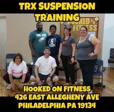 Monday night #TRX at #HookedOnFitness... All core all the time! #HookedOnFitness #PhillyPersonalTrainer #GroupFitness #FitFam #BestInPhilly #BestInPhillyKeepsGettingBetter http://ift.tt/1Ld5awW Another shot from #HookedOnFitness