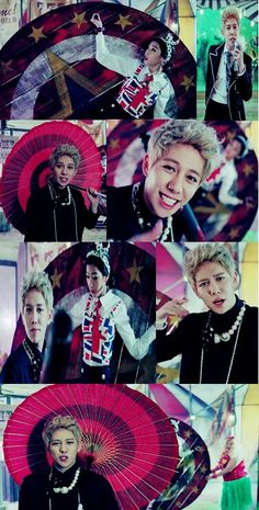 Block B - kyung - Jackpot       How stinkin cute is he in this mv??