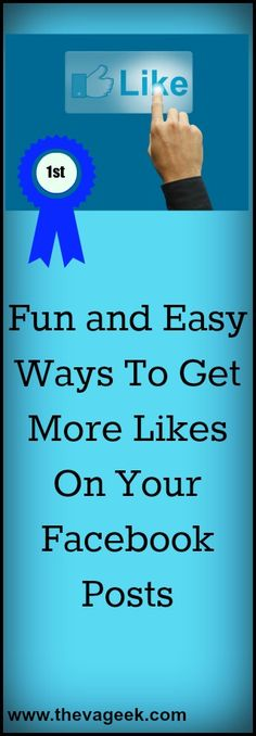 Want to get more Likes and Shares? Here are some easy ways to get more likes on your Facebook posts! #socialmedia #virtualassistant