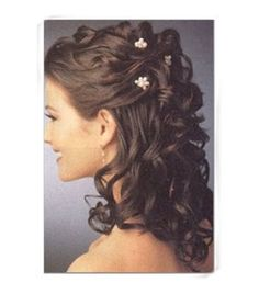 half up bridal hair with comb   ... hair for their big day??   Weddings, Beauty and Attire   Wedding