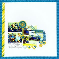 Be Young Boy Addition #Scrapbooking Layout from Creative Memories  http://www.creativememories.com