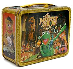 Before Sesame Street and Electric Mayhem, a Crude Kermit Lip Synced Pop Standards Grace . Before Sesame Street and Electric Mayhem, a Crude Kermit Lip Synced Pop Standards Metal lunch box – I had this exact one! I loved the Muppet Show! Retro Lunch Boxes, Lunch Box Thermos, Tin Lunch Boxes, Metal Lunch Box, Best Memories, Childhood Memories, Die Muppets, Ed Vedder, Fraggle Rock