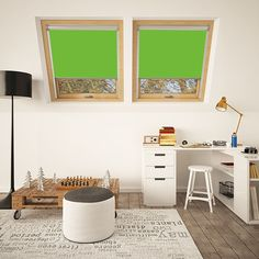 Our Bright Green translucent blinds fit Dakea® windows perfectly. They allow muted light in while maintaining exceptional privacy. And, the bright green colour promises to brighten any space. Discover more here. Red Blinds, Blinds For Windows, Window Blinds, Skylight Blinds, Skylight Window, Bright Green, Green Colors, Colours, Office Blinds