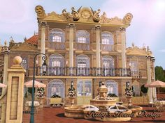 Versailles Restaurant by Rubys Home Design Sims3 - Sims 3 Finds