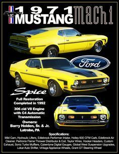 Car Show Poster created with Photoshop Spice 1971 Mustang Mach 1 1971 Mustang Mach 1, Mustang Fastback, Ford Mustang Shelby, Mustang Cars, Ford Mustangs, Classic Mustang, Ford Classic Cars, Rat Rods, Bicicletas Raleigh