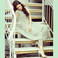 Get Ready for the festive season. Get the perfect East &West look, Salwaral Dress , anchored with Heels and Open Hair
