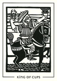 Featured Tarot Card from the Light and Shadow Tarot Deck  The King of Cups  The King of Cups speaks of balanced male and feminine energy; he holds all the positive qualities of both masculine and feminine. Often he indicates a literal man in your life. Usually, when he represents ...