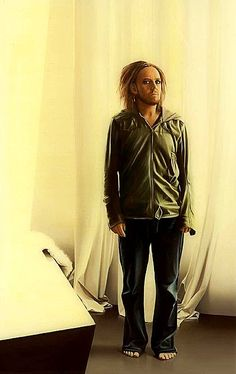 Portrait of singer songwriter Tim Minchin by Sam Leach