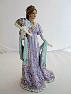 Lenox A PERFECT LADY FASHION FIGURINE nib coa