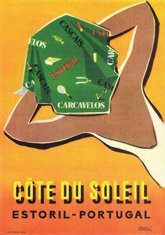 Do Tempo da Outra Senhora: Cartazes publicitários portugueses 1931-1960 Visit Portugal, Spain And Portugal, Portugal Travel, Portugal Tourism, Vintage Advertisements, Vintage Ads, Retro Ads, Illustrations Vintage, Nostalgia